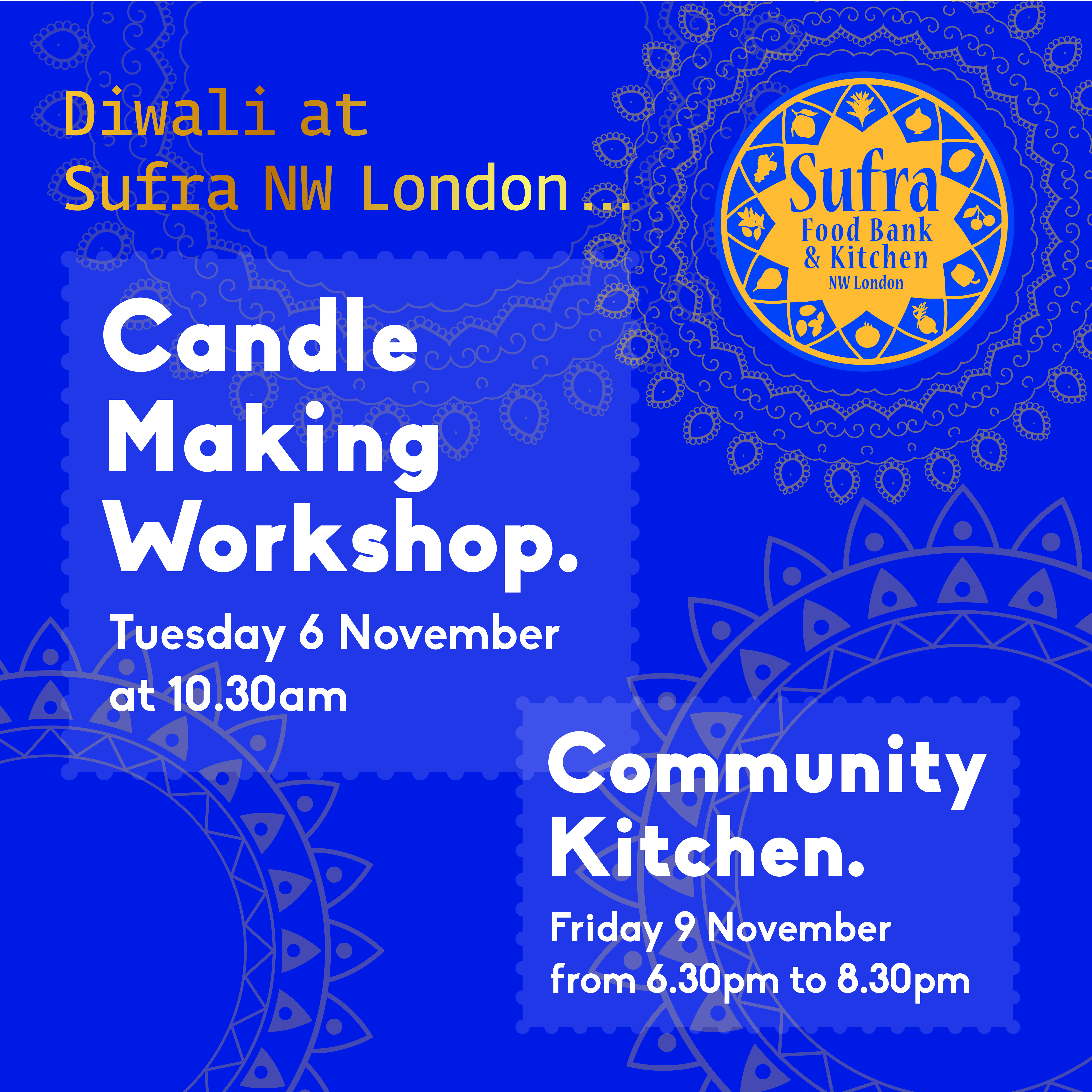 Diwali @ Sufra NW London