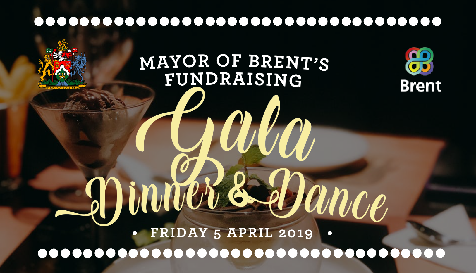 Mayor of Brent's Gala Dinner & Dance – April 2019