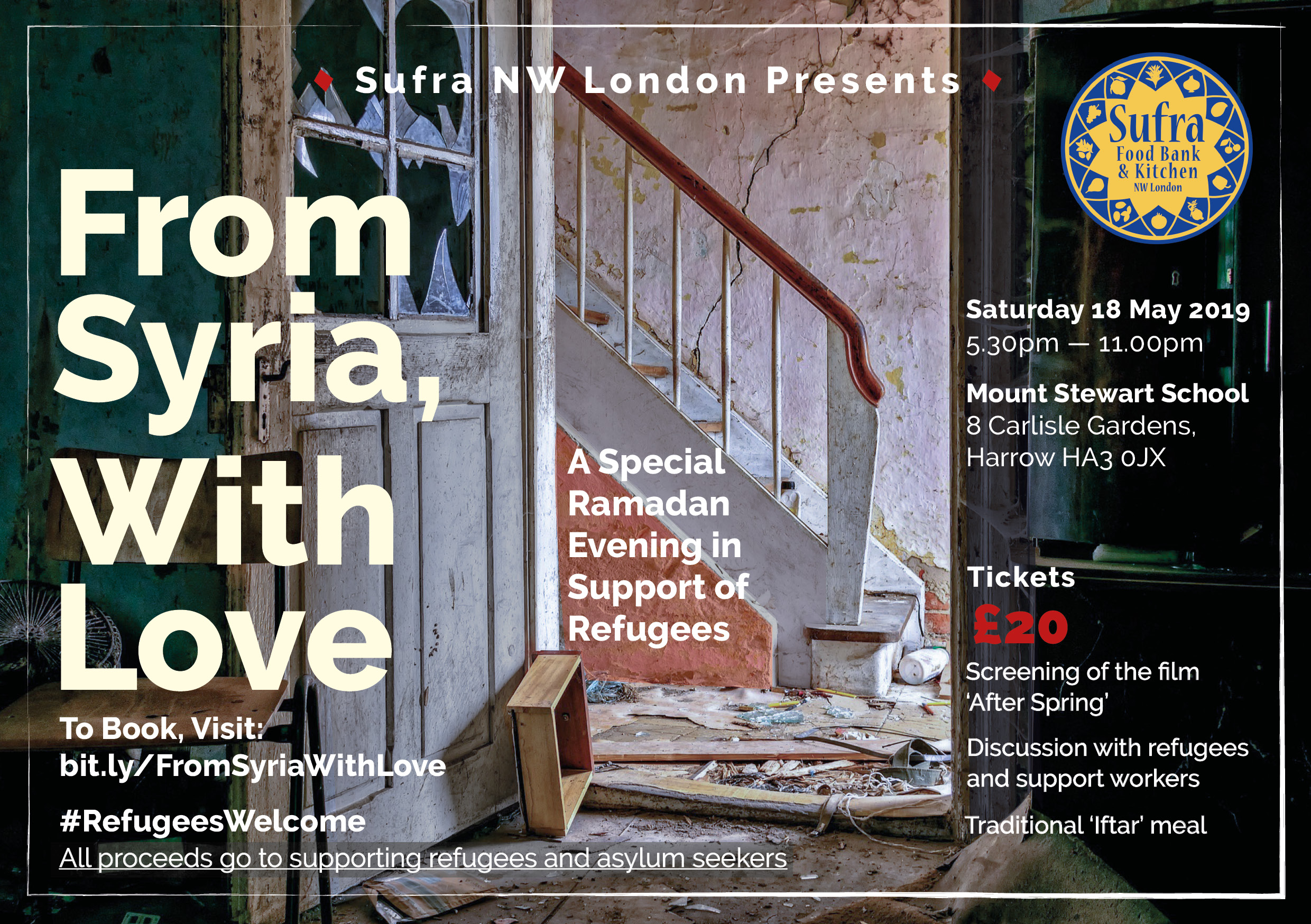 From Syria With Love Sufra Nw London