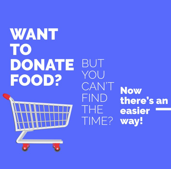 Donate Food Using Online Shopping