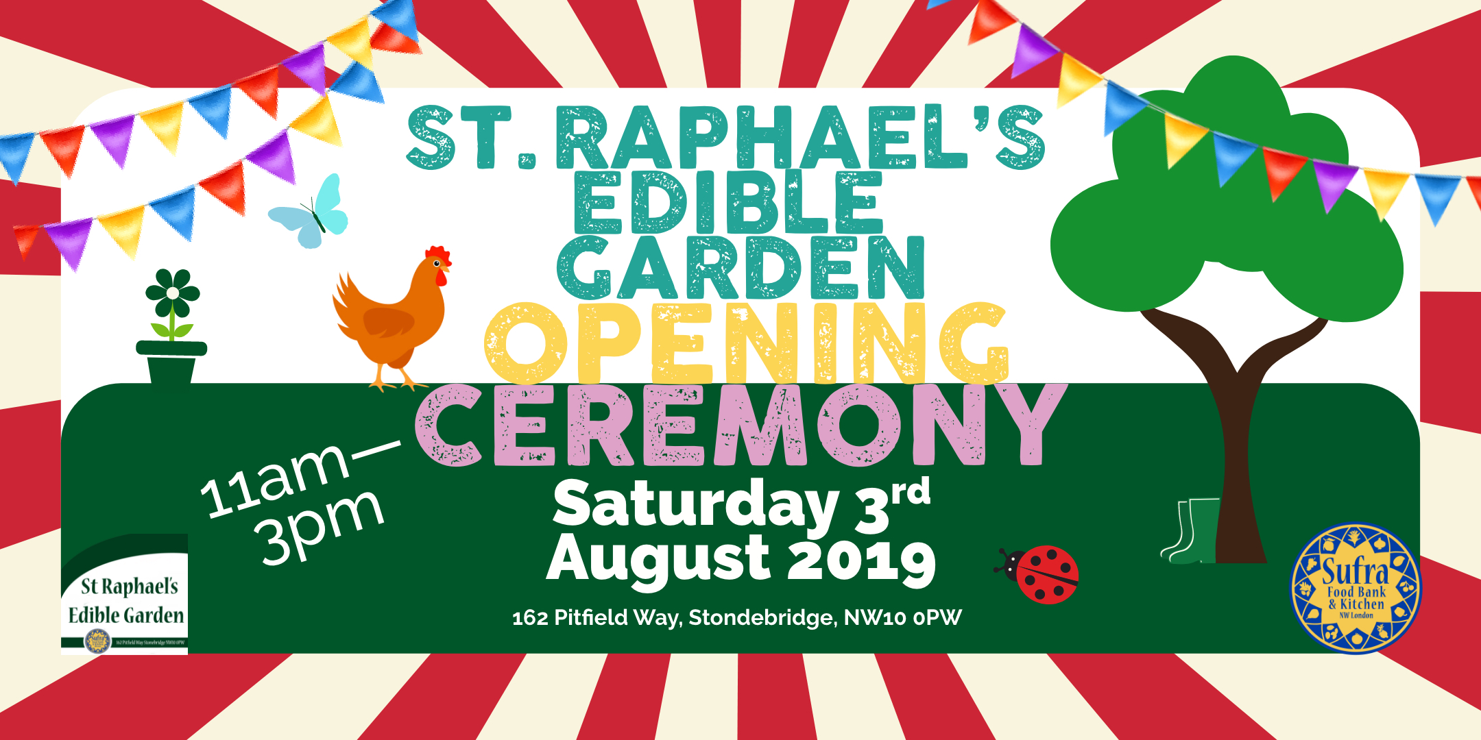 What's On: St Raphael's Edible Garden Opening Ceremony