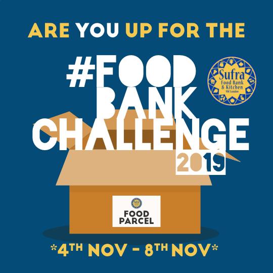 #FoodBankChallenge 2019