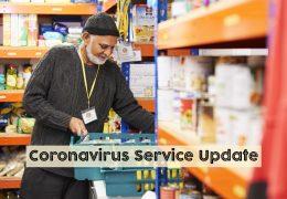 Sufra Coronavirus Emergency Appeal Service Update