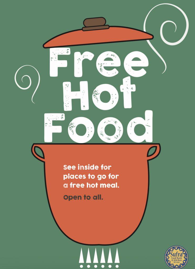 List of Hot Food Providers London