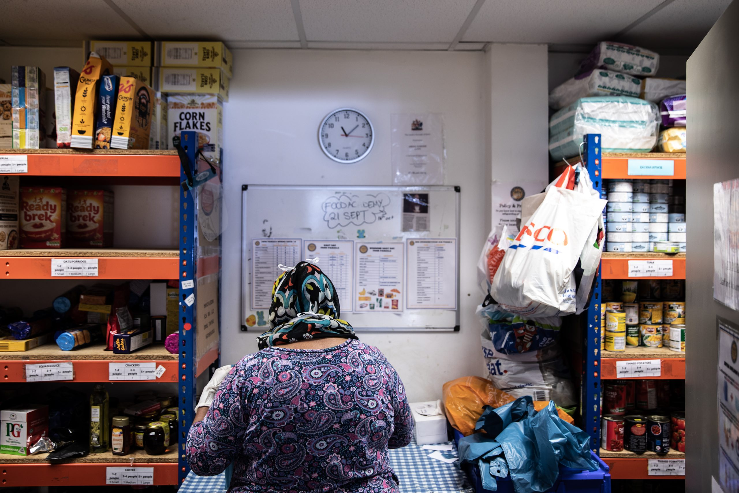 Independent aid organisations plug poverty gaps as welfare state fails