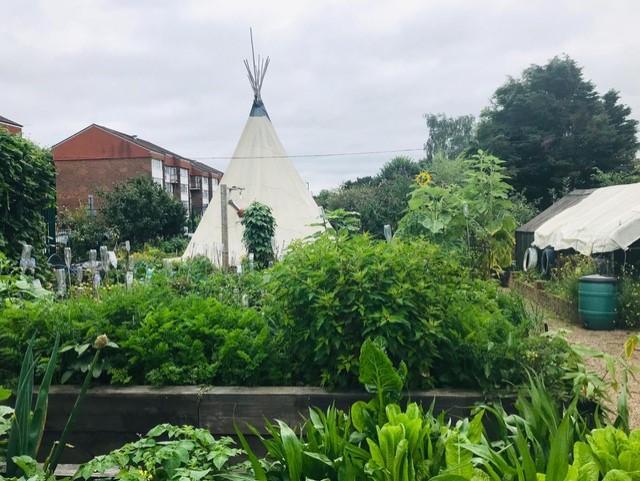 Guest Photo Essay: St Raph's Edible Garden Brent's Allotment